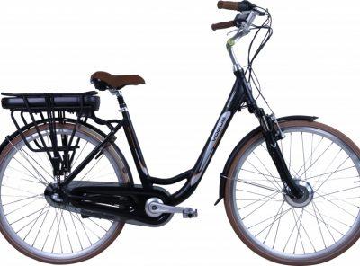 Vogue Basic 28 Inch 50 cm Dames 3V Rollerbrake Matzwart