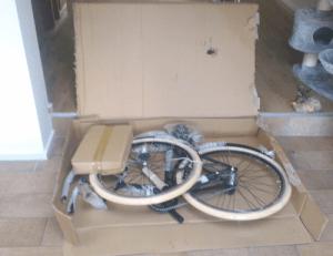 fiets assemblage stap 2 inhoud