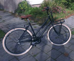 fiets assemblage stap 5 klaar smeren